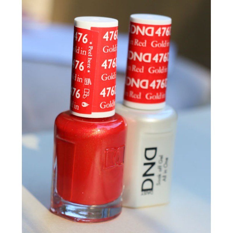 DND Matching Color Gel & Lacquer