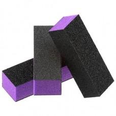 Dixon Purple Buffer Black Grit Premium 3-Way, 60/100 Grit