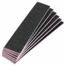 50 Pieces Rectangle Black Nail File