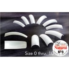 Lamour Natural Nail Tips, 50 Count