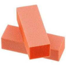 Dixon Orange Buffer White Grit Premium 3-Way, 100/100 Grit