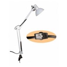 Swing Arm Lamp White