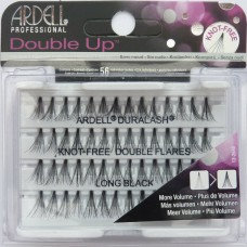 Ardell Double Up Long Knot Free Black Lashes