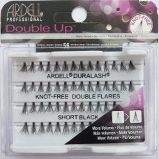 Ardell Double Up Short Knot Free Black Lashes