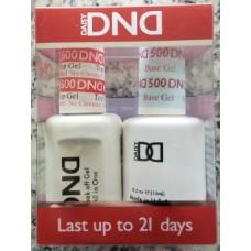 DND Base Gel & No Cleanse Top Gel Pair