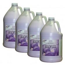 BeBeauty Body Cream Lavender-Orchid, 4 Gallon