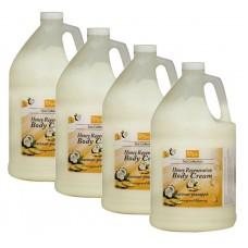 BeBeauty Body Cream Coconut-Pineapple, 4 Gallon