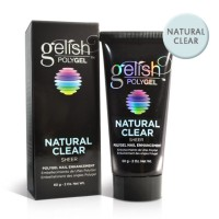 Gelish PolyGel Nail Enhancement, Natural Clear