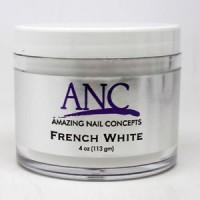 ANC French White Acrylic Powder, 4 Oz