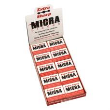 Micra Blades Callus Remover, 100 Pieces
