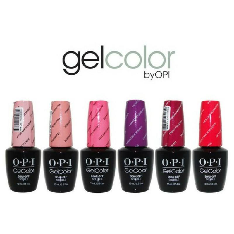 Opi Gelcolor Soak Off Gel Polish