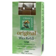 Clean+Easy Large Original Wax Refill 3 Pack