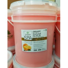 LaPalm Orange Sugar Scrub 5 Gallon