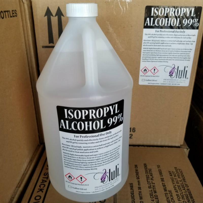 Luli 99% Isopropyl Alcohol, 1 Gallon