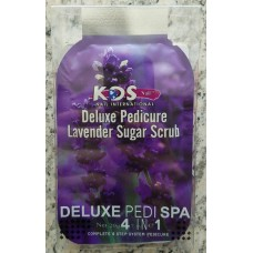 KDS Deluxe Pedi Spa 4 in 1 - Lavender