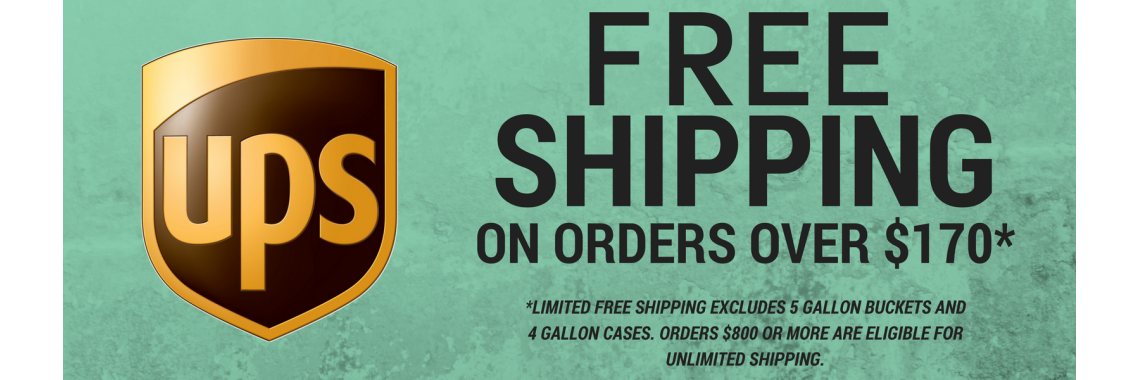 FREE SHIPPING ON ORDERS OVER $170!