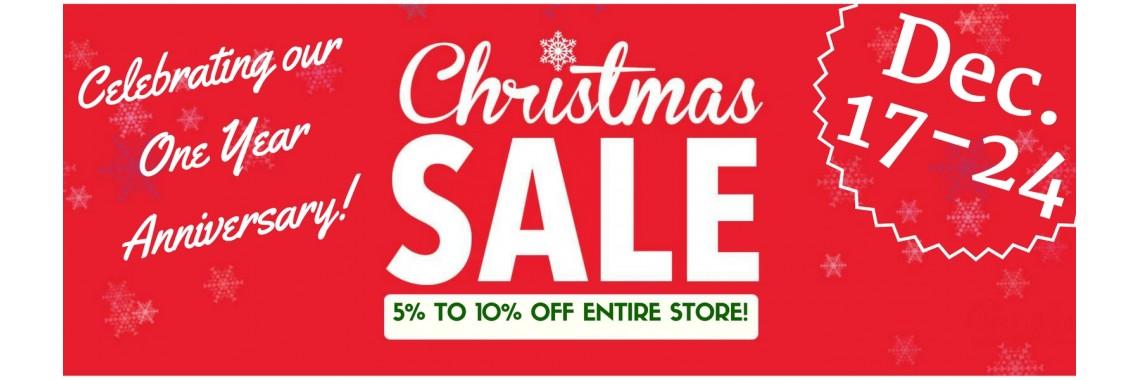 Christmas Sale! Dec 17-24